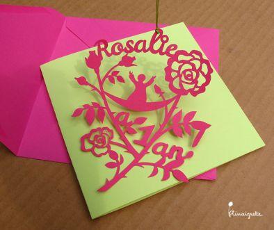illustration 1 pour le portfolio rosalie-a-1-an