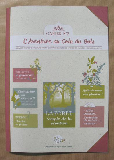 illustration 1 pour le portfolio cahier-pratique-sauvage-n2-la-foret-8-50e