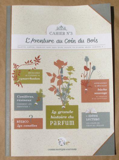 illustration 1 pour le portfolio cahier-pratique-sauvage-n3-la-grande-histoire-du-parfum