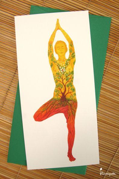 miniature 2 pour le portfolio serie-de-cartes-yoga