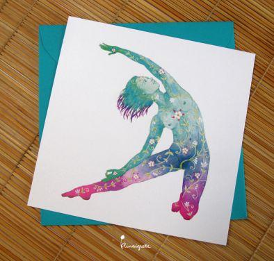 miniature 3 pour le portfolio serie-de-cartes-yoga
