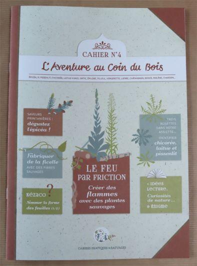 miniature 2 pour le portfolio cahier-pratique-sauvage-n4-le-feu-par-friction-8-50e